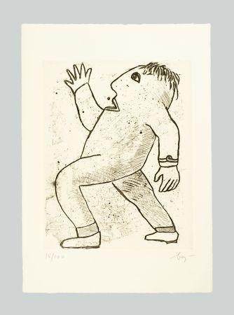 彫版 Baj - Senza titolo