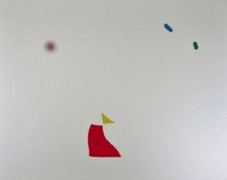 エッチングと アクチアント Miró - Serie Mallorca