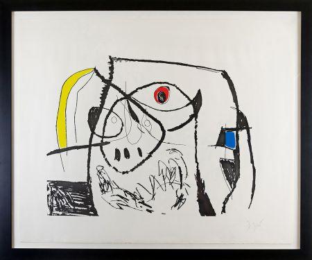 彫版 Miró - Serie Mallorca Plate XII