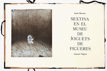 エッチング Tàpies - Sextina en el Museu de Joguets de Figueres