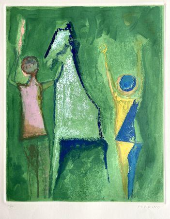 エッチングと アクチアント Marini - Shakespeare I, Sheet I