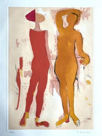 エッチングと アクチアント Marini - Shakespeare I, Sheet V