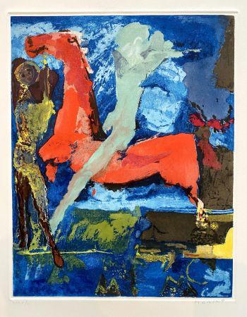 エッチングと アクチアント Marini - Shakespeare I, Sheet VI