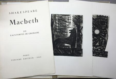 彫版 Gromaire - SHAKESPEARE, William: MACBETH.