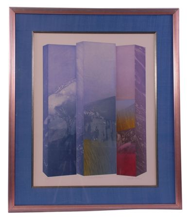 エッチング Ware - Shaped Triptych I