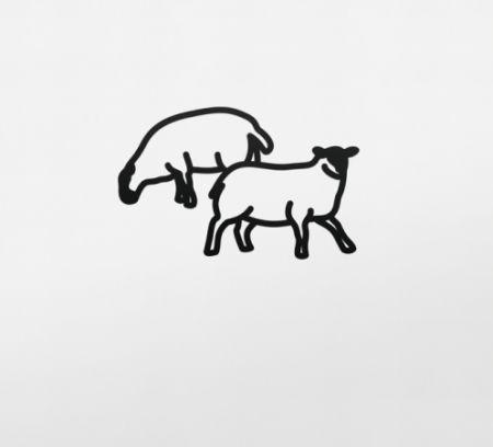技術的なありません Opie - Sheep 2, from Nature 1 Series
