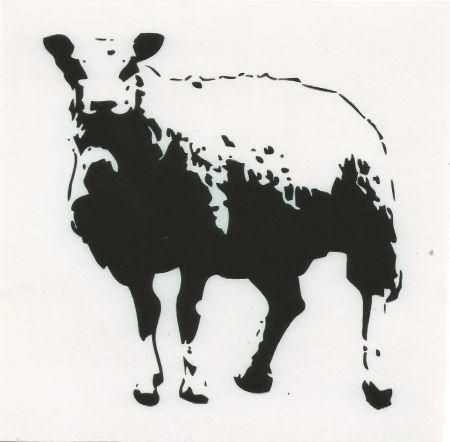 シルクスクリーン Blek Le Rat - Sheep (baah)