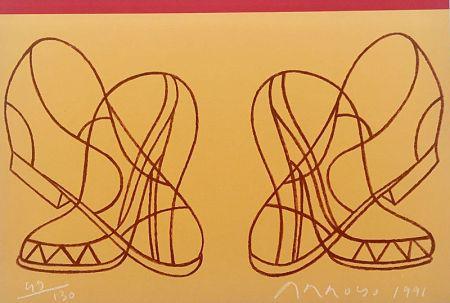 リトグラフ Arroyo - Shoes