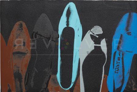 シルクスクリーン Warhol - Shoes (Deluxe Edition) (Fs Ii.252)