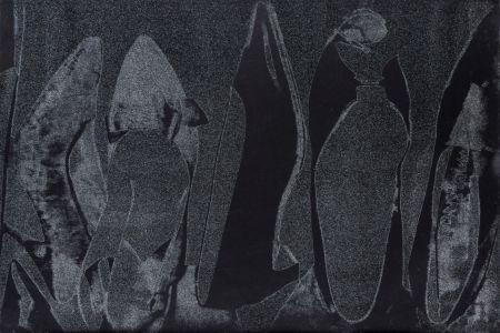 シルクスクリーン Warhol - Shoes (FS II.256)