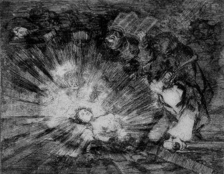 エッチングと アクチアント Goya - Si resuscitarà