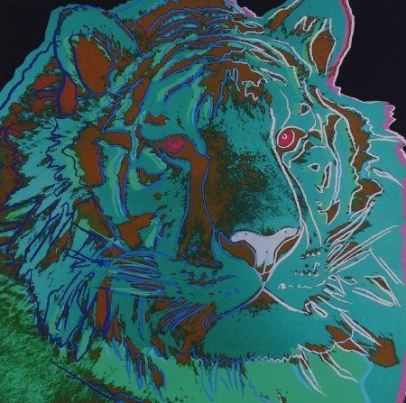 シルクスクリーン Warhol - Siberian Tiger