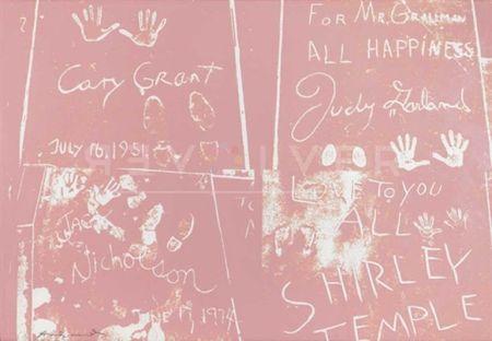 シルクスクリーン Warhol - Sidewalk (Fs Ii. 304)