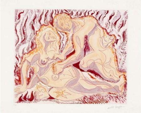 エッチングと アクチアント Masson - Siegfried und brunhilde