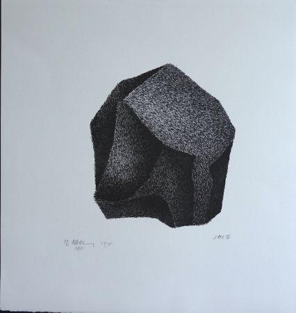 リトグラフ Ubac - Silex III