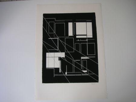 リトグラフ Palazuelo - Sin Título
