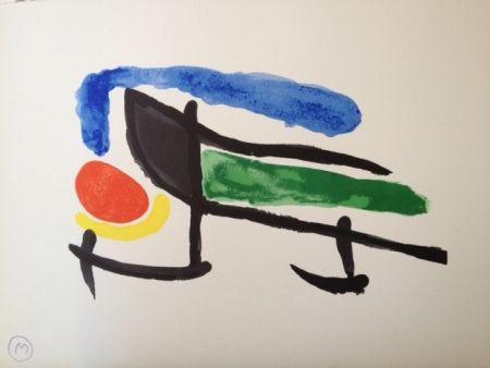 リトグラフ Miró - Sin Titulo