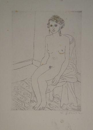彫版 Geiser - Sitzende
