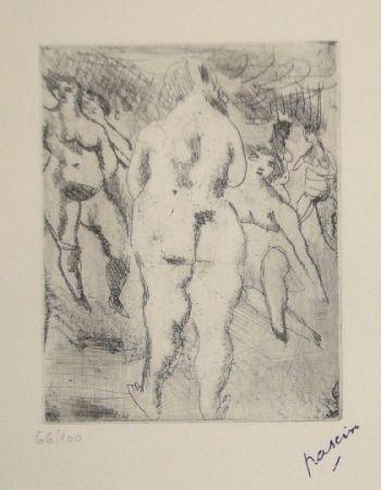 ポイントーセッシュ Pascin - Six Femmes nues