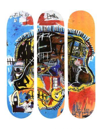 多数の Basquiat - Skull Skateboards