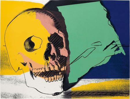 シルクスクリーン Warhol - Skulls (FS II.158)