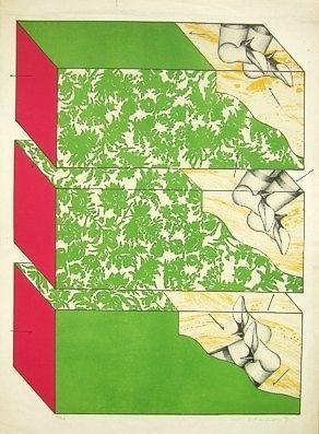 リトグラフ Ikeda - Sky garden