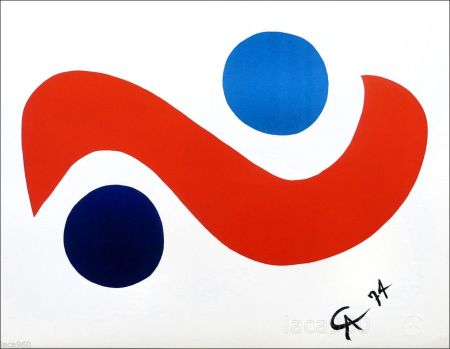 リトグラフ Calder - Skybird