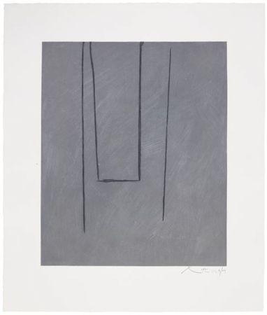 エッチングと アクチアント Motherwell - Slate Gray Pintura