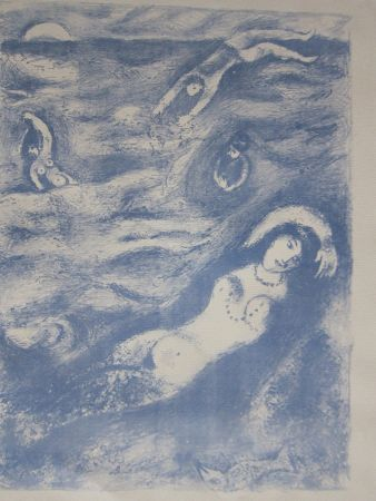 リトグラフ Chagall - So i came forth....