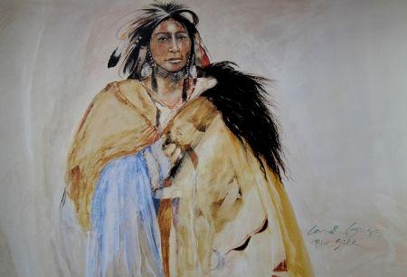 オフセット Grigg - SOIE BLEUE - Indiens d'Amérique / Native Americans - Cherokee