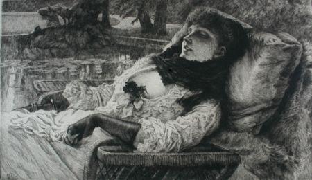 彫版 Tissot - Soirée d'été