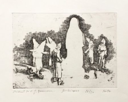 彫版 Borremans - Soubirous