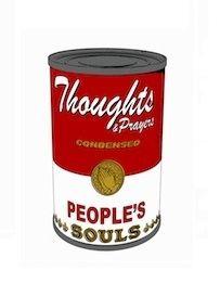 シルクスクリーン Robierb - Soup Cans