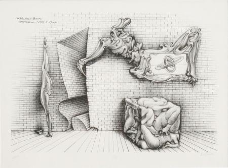 リトグラフ Bellmer - Souterrain No. 13