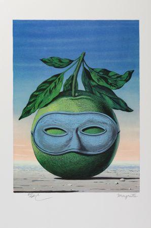 リトグラフ Magritte - Souvenir de Voyage