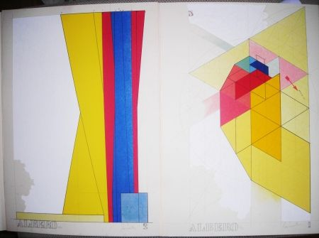 リトグラフ Pomodoro - Sovraesistenze
