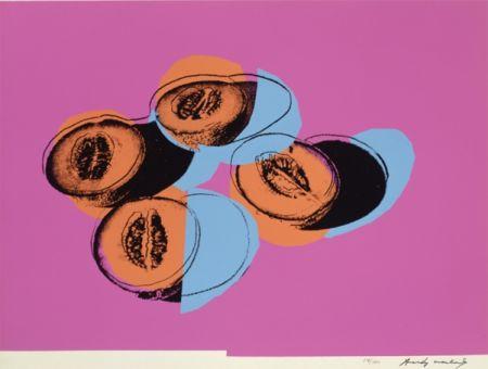 シルクスクリーン Warhol - Space Fruit: Cantaloupes II (FS II.198)
