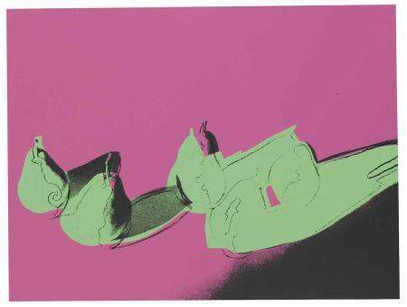シルクスクリーン Warhol - Space Fruit: Pears (FS II.203)