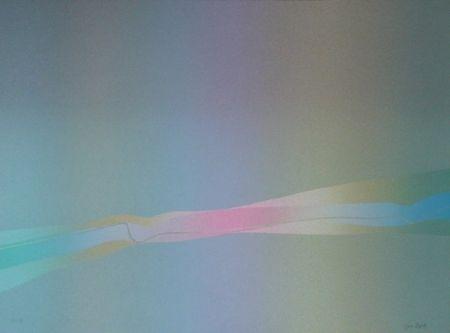 リトグラフ Bird - Spectre lumière 2