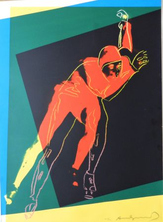 シルクスクリーン Warhol - Speed Skater