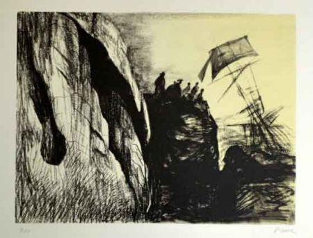 リトグラフ Moore - Sphipwreck II