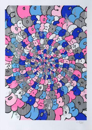 シルクスクリーン Tilt - Spiral