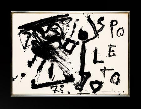 リトグラフ Vedova - Spoleto 73