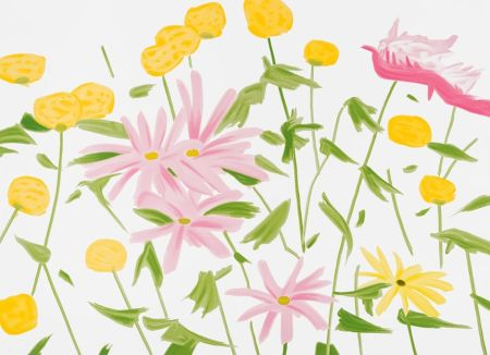 シルクスクリーン Katz - Spring Flowers