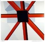 シルクスクリーン D'arcangelo - Squared Star