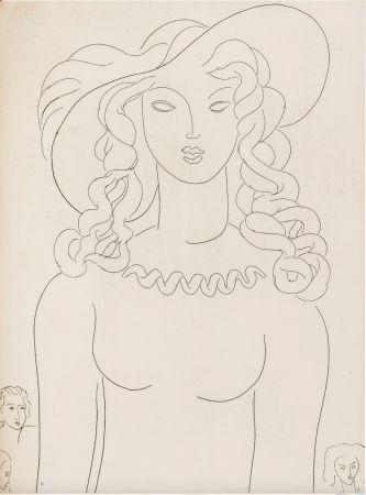 挿絵入り本 Matisse - Stéphane Mallarmé : POÉSIES. Albert Skira 1930.