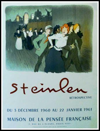 掲示 Steinlen - STEINLEN - MAISON DE LA PENSÉE FRANÇAISE, RÉTROSPECTIVE