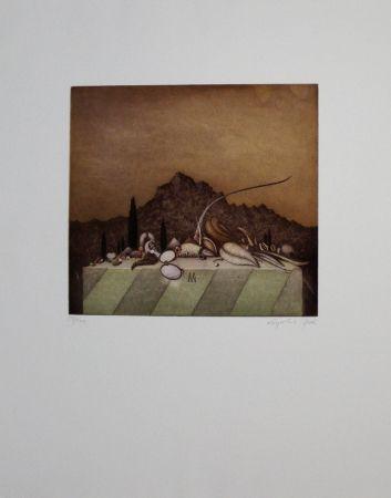 エッチングと アクチアント Peer - Still Life Landscape