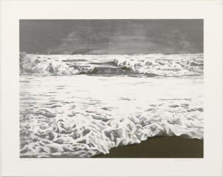 リトグラフ Gornick - Storm sea