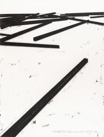 シルクスクリーン Venet - Straight Lines / Dispersion